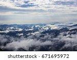 mountain  sky  clouds | Shutterstock . vector #671695972