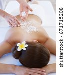 massage | Shutterstock . vector #671715208