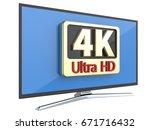 ultra high definition digital... | Shutterstock . vector #671716432
