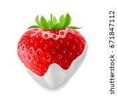 raster version. fresh... | Shutterstock . vector #671847112