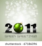 ecology green themed greetings...