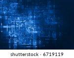 abstract digital background   Shutterstock . vector #6719119