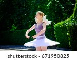 Young Beautiful Ballerina With...