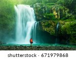 Waterfall Hidden In The...
