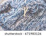 Detail Of Woven Handicraft Kni...