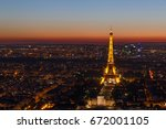 paris  france   june 26  2017 ... | Shutterstock . vector #672001105