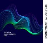 abstract vector background.... | Shutterstock .eps vector #672011938