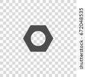 nut bolt vector icon | Shutterstock .eps vector #672048535