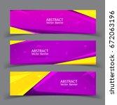 vector abstract geometric... | Shutterstock .eps vector #672063196