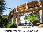 sarajevo  bosnia and... | Shutterstock . vector #672065455