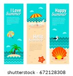 travel and vacation vector... | Shutterstock .eps vector #672128308