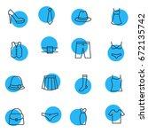 vector illustration of 16... | Shutterstock .eps vector #672135742