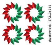 leaf  | Shutterstock .eps vector #672136366