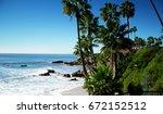Beach Laguna Beach California...
