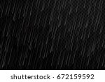 vector realistic isolated water ... | Shutterstock .eps vector #672159592
