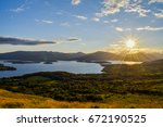 A Hike Up Conic Hill Part Of...