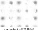 abstract halftone dotted... | Shutterstock .eps vector #672210742