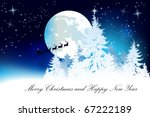 christmas background | Shutterstock .eps vector #67222189