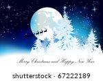 christmas background | Shutterstock .eps vector #67222189