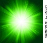 A Green Color Design With A...