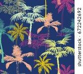vector dark blue colorful... | Shutterstock .eps vector #672242692