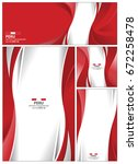peru flag abstract colors... | Shutterstock .eps vector #672258478
