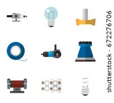 set of 9 editable electrical...