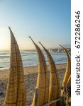 huanchaco beach and the...