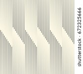 seamless vertical line... | Shutterstock .eps vector #672325666