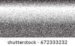 halftone dots. black dots on...   Shutterstock .eps vector #672333232