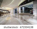 luxury lobby interior. | Shutterstock . vector #672334138