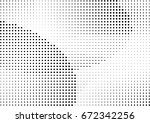abstract halftone dotted... | Shutterstock .eps vector #672342256