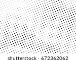 abstract halftone dotted...   Shutterstock .eps vector #672362062
