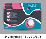 flyer  brochure  billboard... | Shutterstock .eps vector #672367675