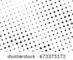 abstract halftone dotted...   Shutterstock .eps vector #672375172