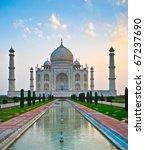taj mahal in india | Shutterstock . vector #67237690