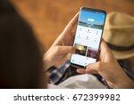 izmir  turkey   june 27  2017 ... | Shutterstock . vector #672399982