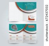 abstract flyer design... | Shutterstock .eps vector #672437032