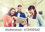 business  communication ... | Shutterstock . vector #672450562
