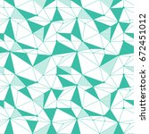 geometric line hipster seamless ... | Shutterstock .eps vector #672451012