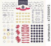 premium design elements. great... | Shutterstock .eps vector #672500092