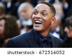 Small photo of CANNES, FRANCE - MAY 23: Will Smith attends the 70th Anniversary during the 70th annual Cannes Film Festival on May 23, 2017 in Cannes, France.
