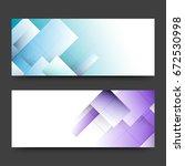 website headers or banners set... | Shutterstock .eps vector #672530998
