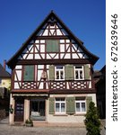 Small photo of Traditional style German house in the village of Haslach im Kinzingtal, Schwarzwald, Germany.