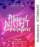 nice and beautiful party flyer... | Shutterstock .eps vector #672686632