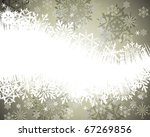 beautiful vector christmas  new ... | Shutterstock .eps vector #67269856