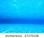 Shots Underwater In A Swimming...