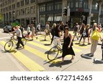 zurich  switzerland   june 03 ... | Shutterstock . vector #672714265