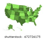 map of united states of america ...   Shutterstock .eps vector #672726175