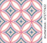 seamless pattern background.... | Shutterstock .eps vector #672777622